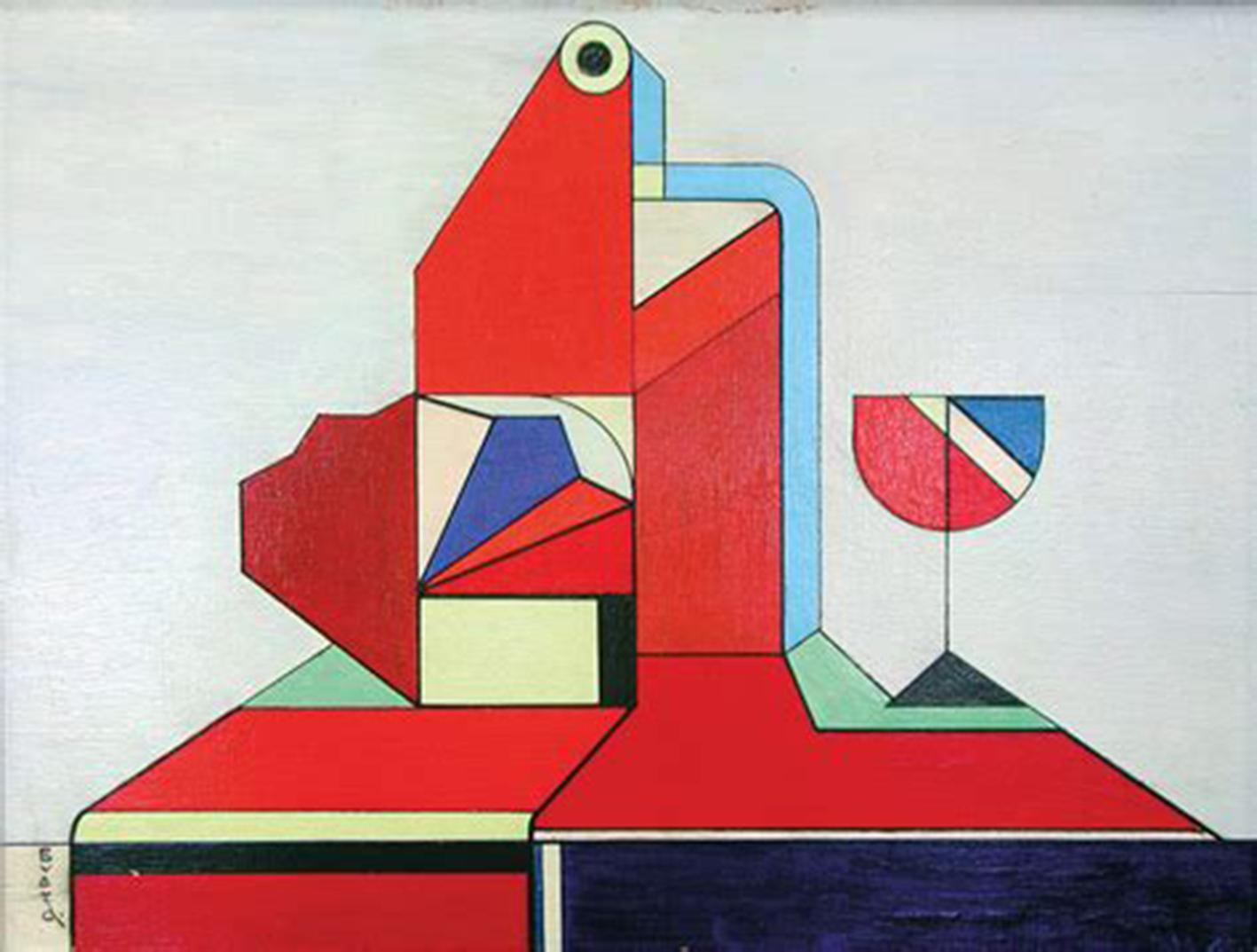 """symphonia_4"" 1924 André Evard   © Sammlung Messmer"