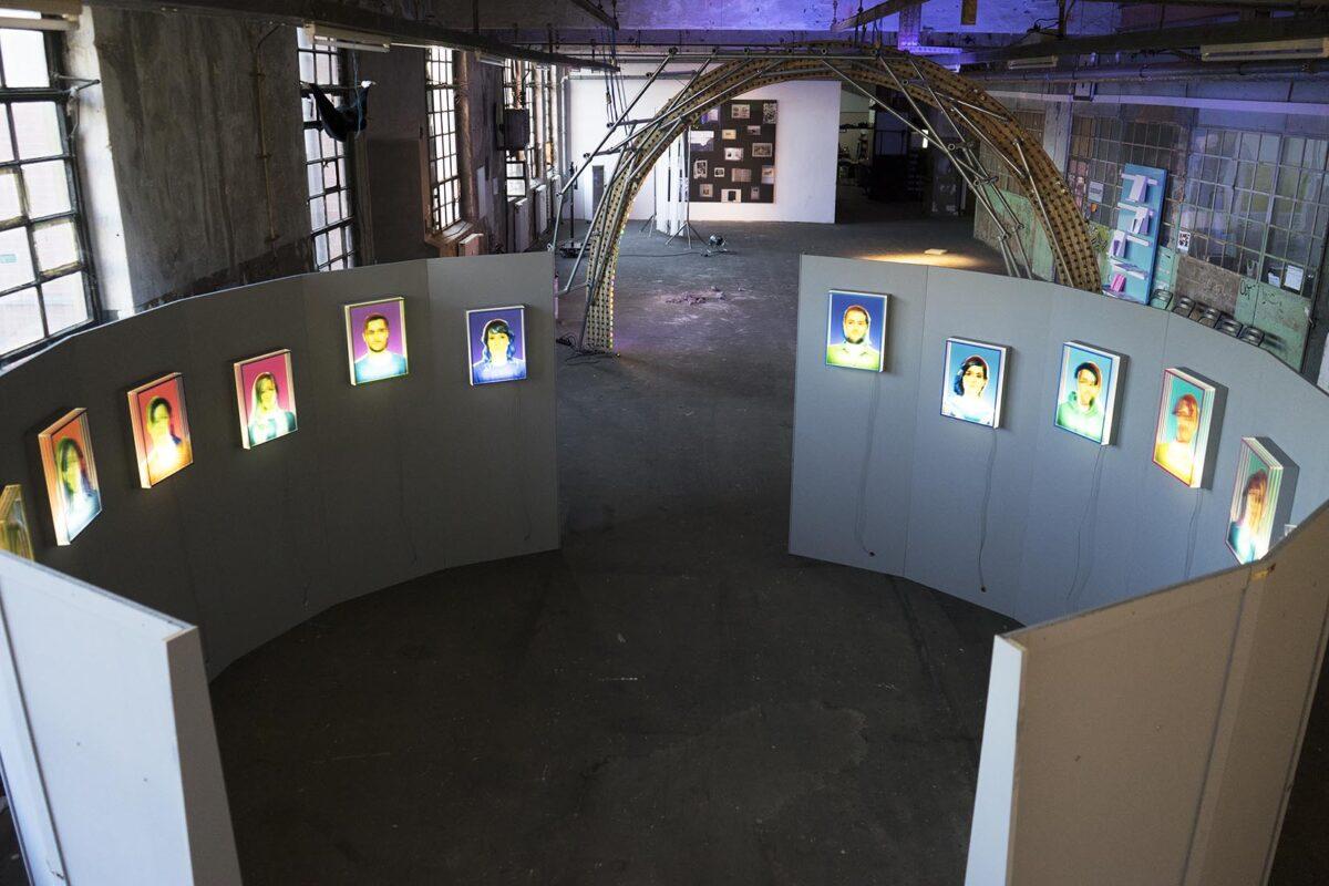 Ausstellungsansicht _ REGIONALE VIER in Berlin, Flutgraben e.V. 2018
